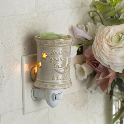 Mini Pluggable Wax Warmer - Love you to the moon
