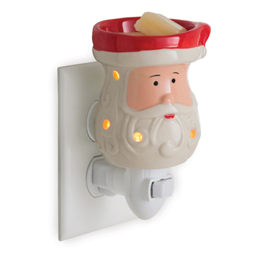 Mini Pluggable Wax Warmer Santa