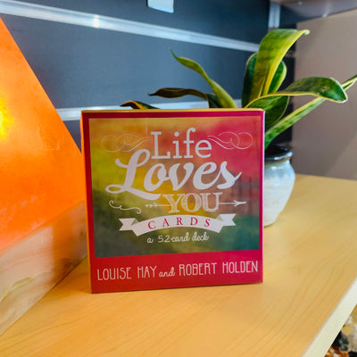 Life Loves You Affirmation Cards