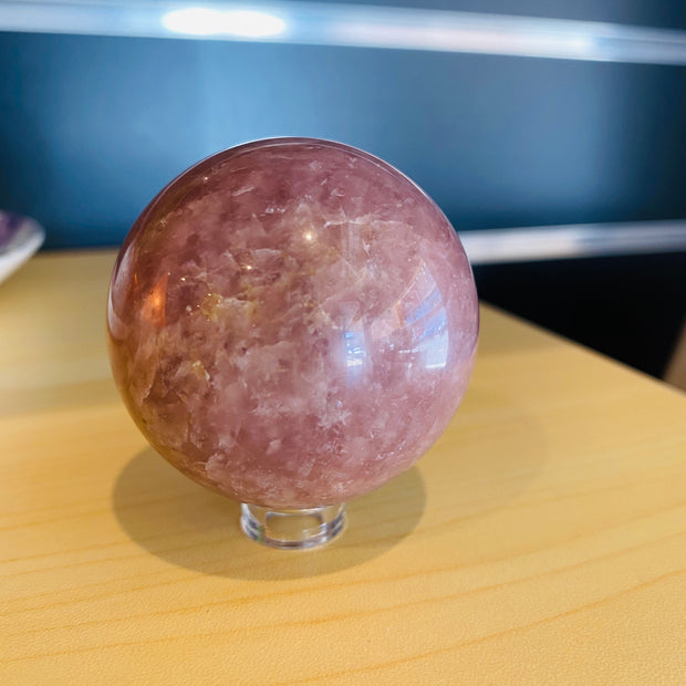 Strawberry Quartz Sphere - #SQ-SP03
