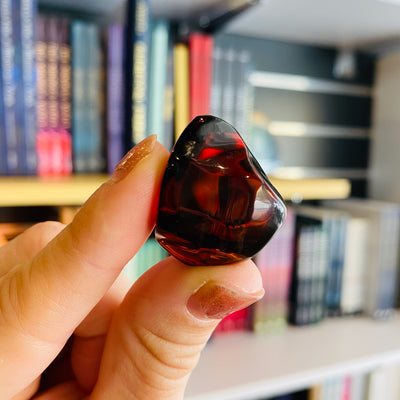 Red Amber Polished Piece #RAMB-P05
