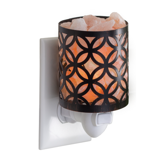 Mini Pluggable Himalayan Salt Lamp - Kiara