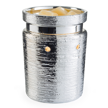Electric Wax Warmer - Brushed Chrome