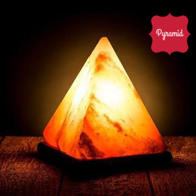 Himalayan Salt Lamp - Pyramid Shape