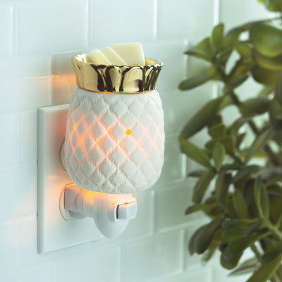 Mini Pluggable Wax Warmer - Pineapple