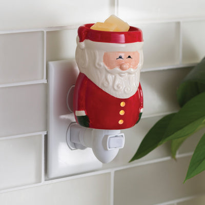 Mini Pluggable Wax Warmer Red Santa Claus