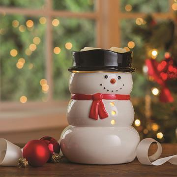 Electric Wax Warmer Snowman