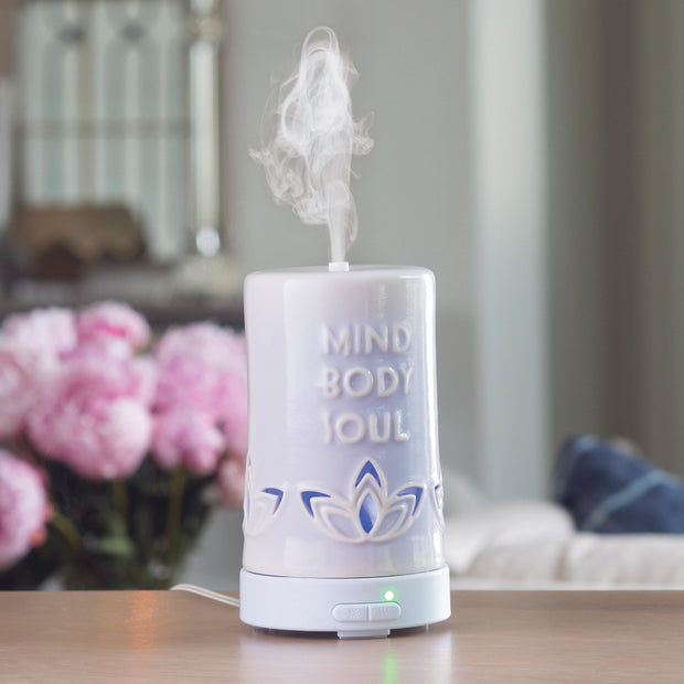 Ultrasonic Essential Oil Diffuser - Mind Body Soul