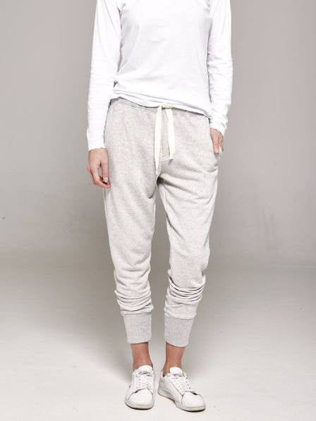 Organic cotton grey track pants