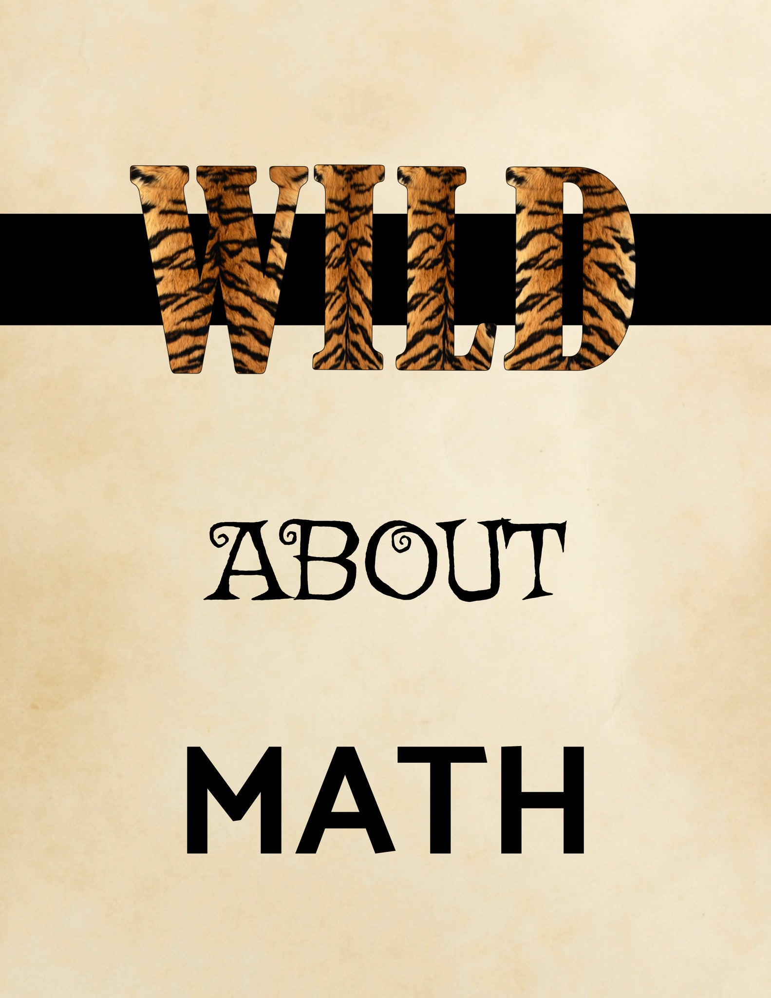 Instant Download - Wild About Math – Impressionables