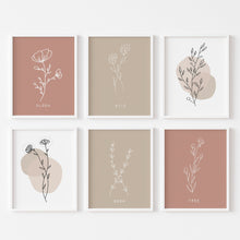 Botanical Print Set One