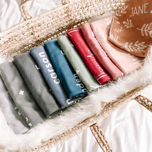 Solid Colour Personalized Blankets