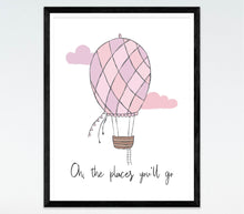 Oh, The Places You'll Go-Pink