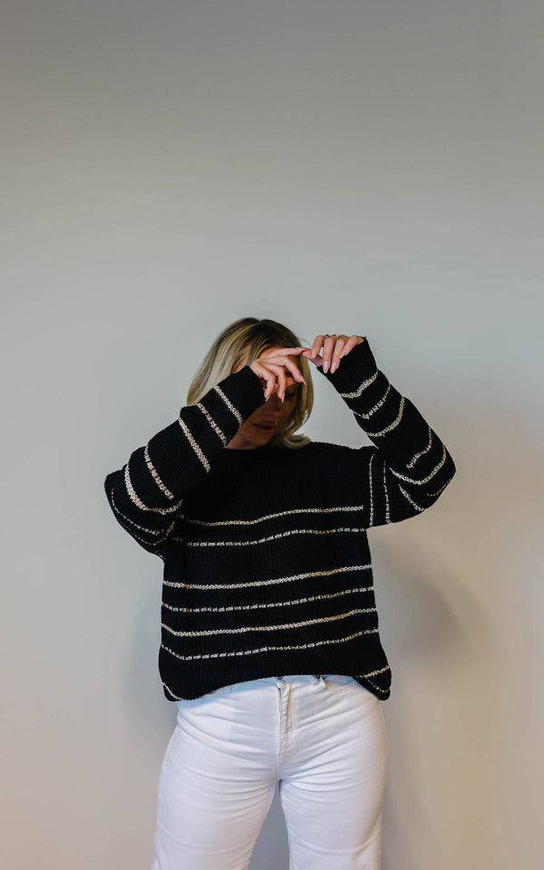 Touch Of Gold Sweater