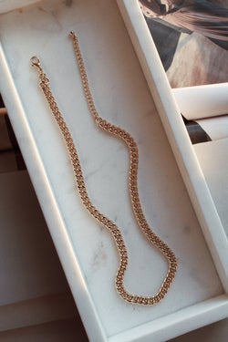 Thin Chain Link Necklace