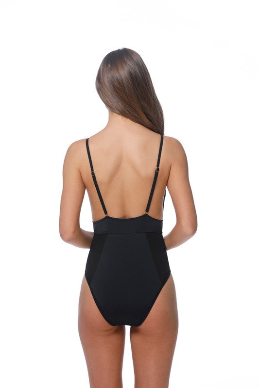Risky Business Black Swimsuit