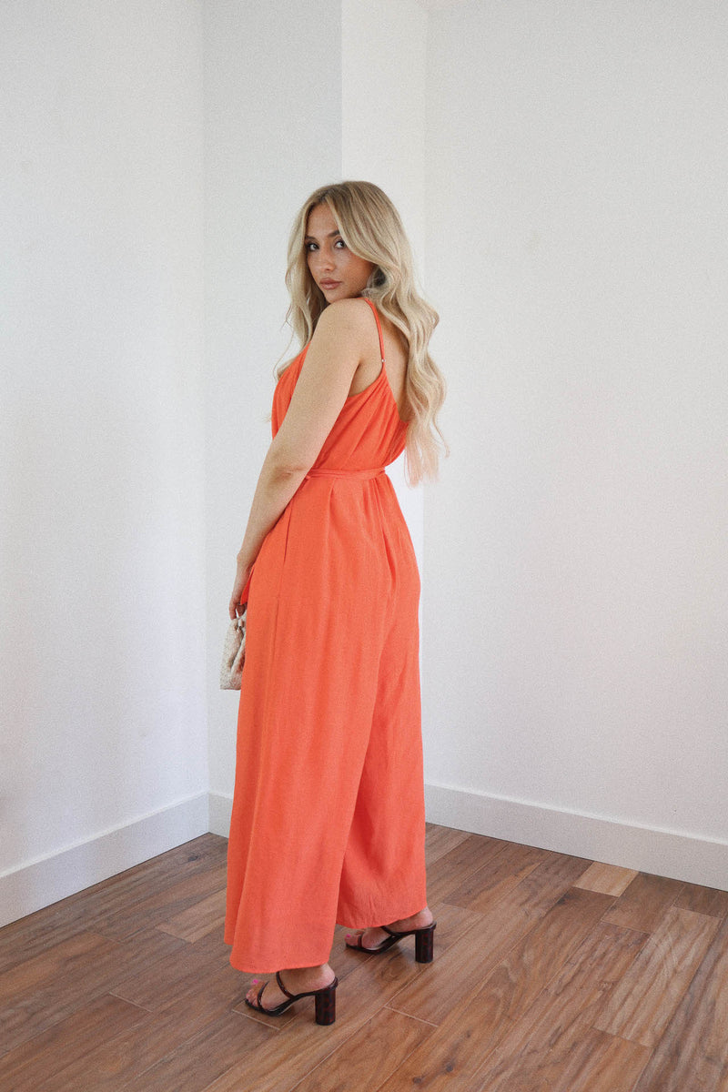 Catching Sunsets Jumpsuit