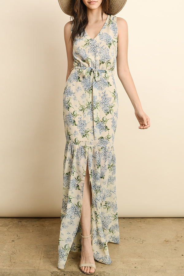 Delicate Blooms Maxi Dress