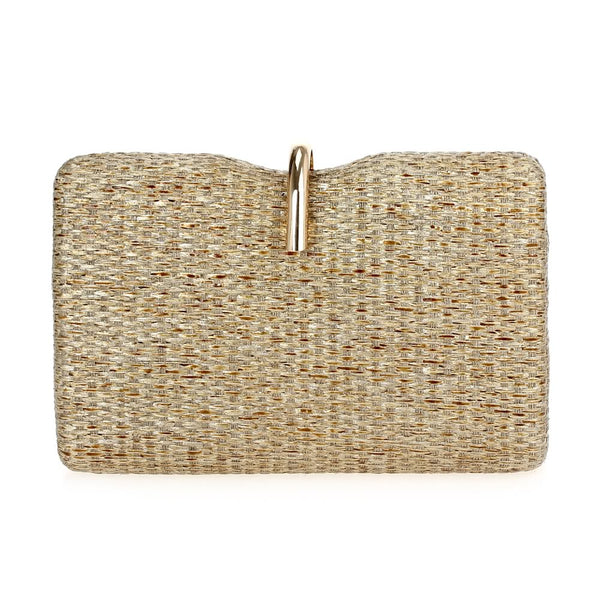 Brunchin' Straw Beige Clutch