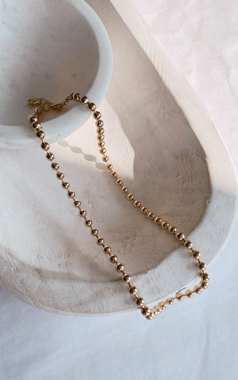 Dainty Ball Necklace