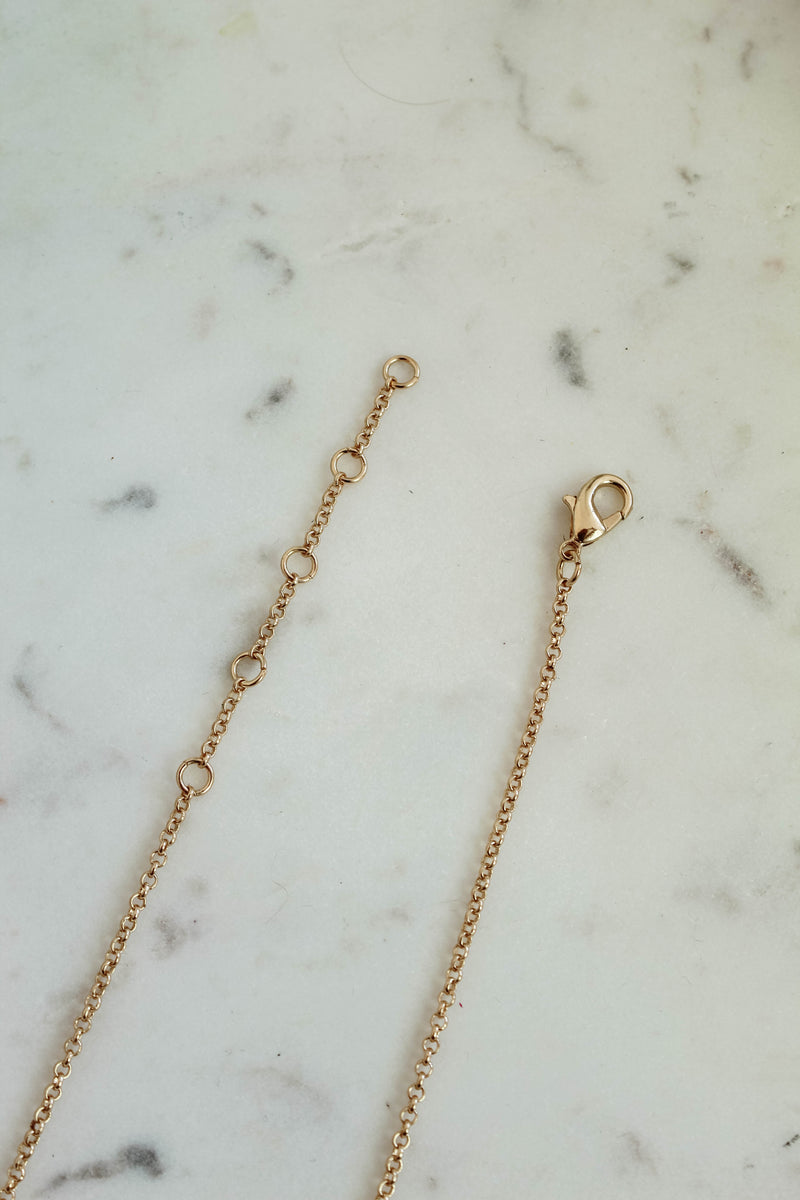 Star Gazing Gold Chain Necklace