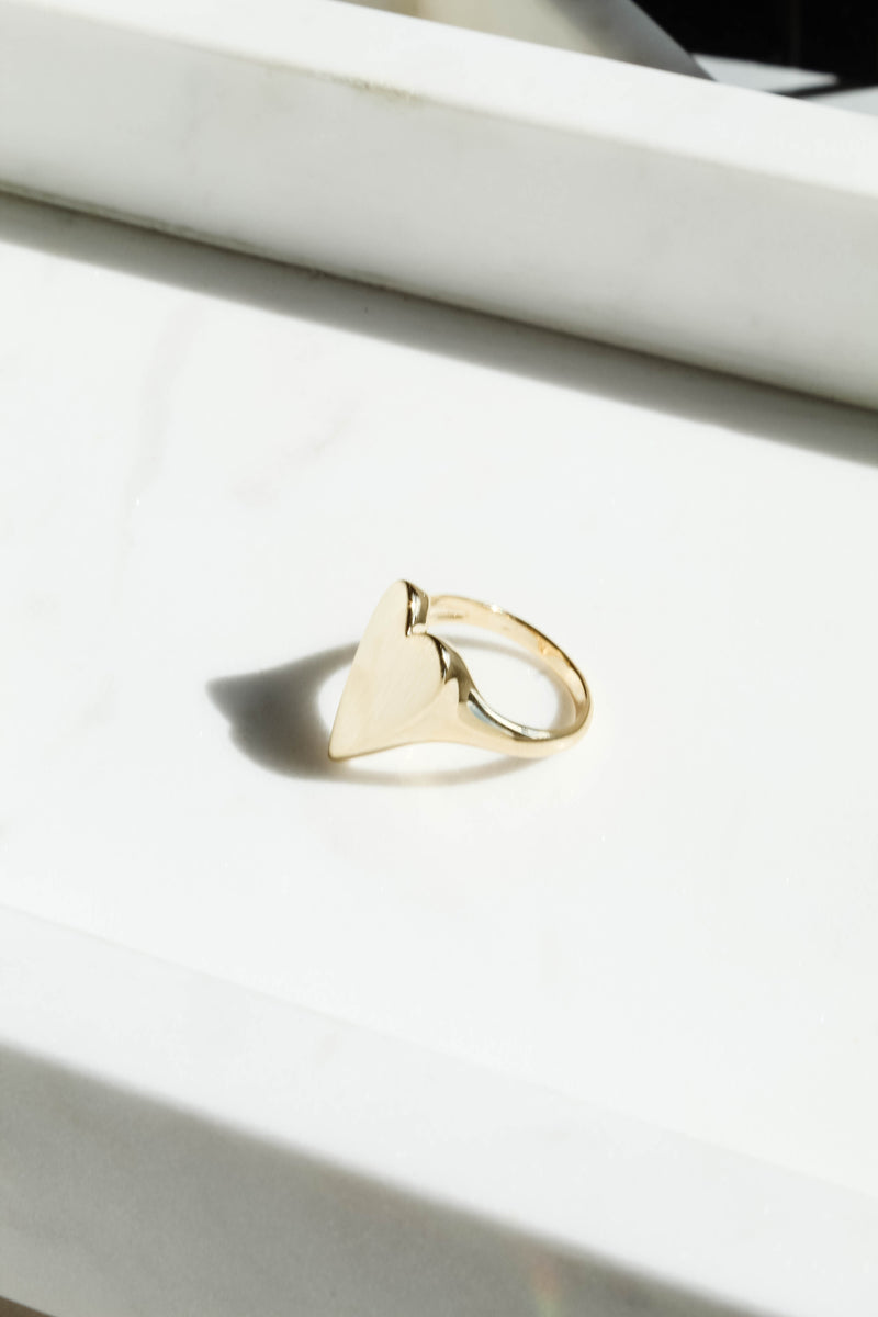 Steal My Heart Gold Ring