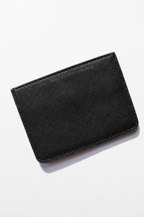 Black Sleek Card Holder Wallet