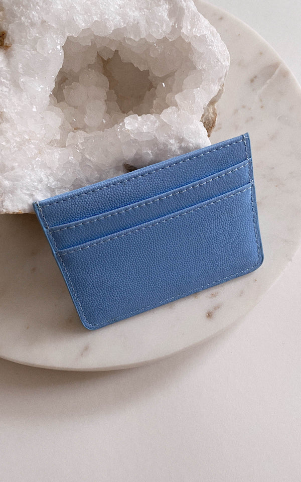 Something Blue Sleek Card Holder Wallet