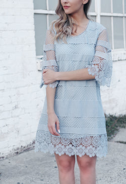 CARA CROCHET DRESS