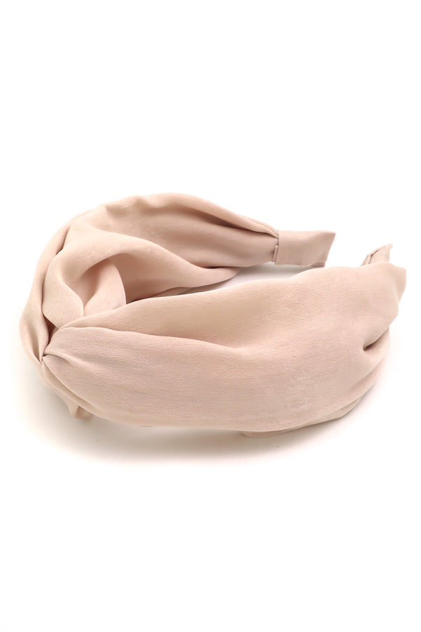Pale Blush Knot Headband