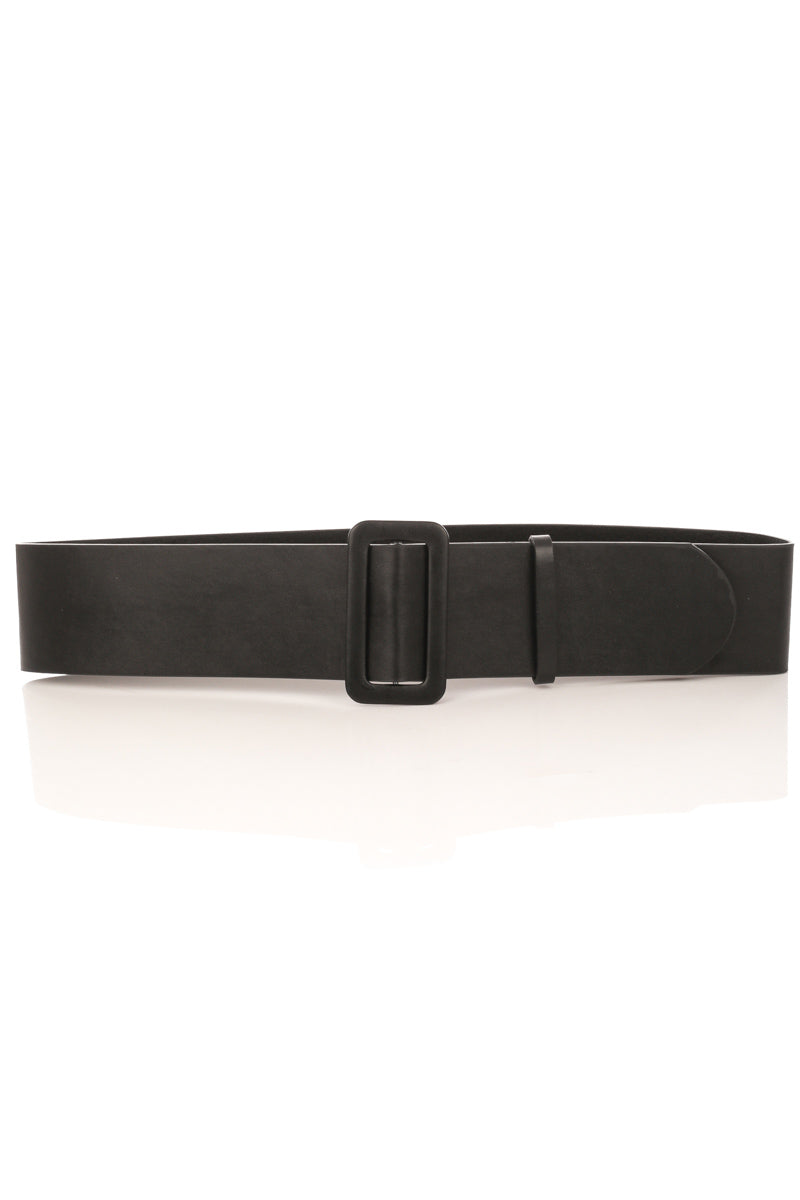 Wide Black Belt