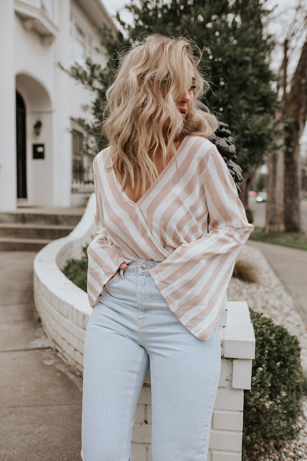 Vacay Ready Stripe Top