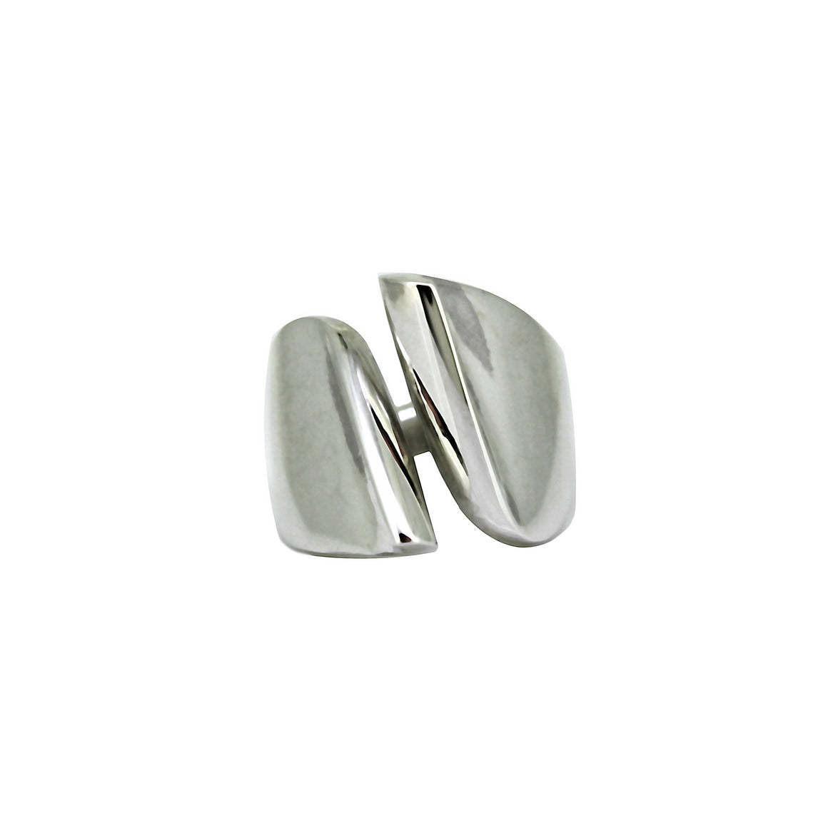 Silver Open Sling ring