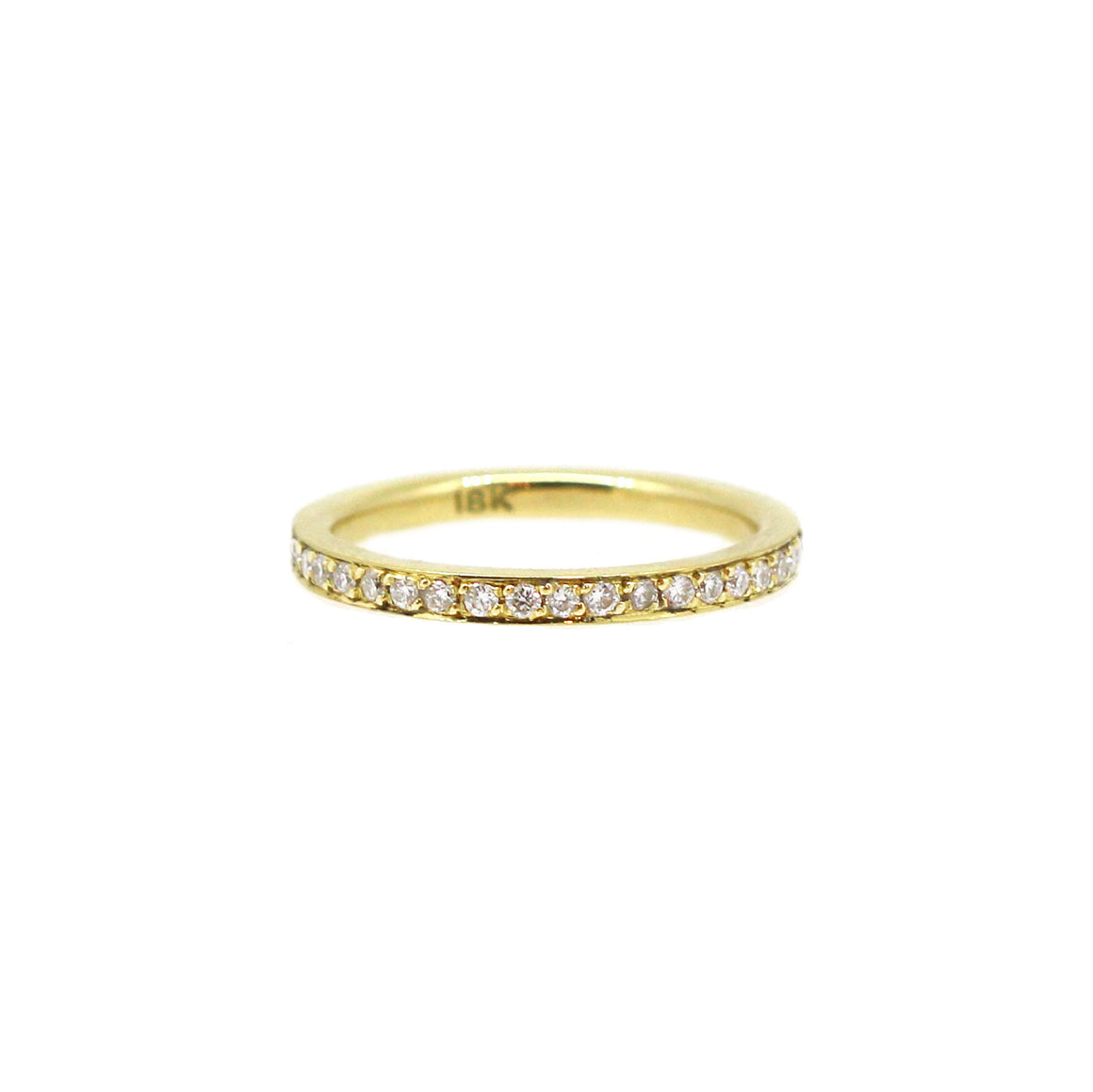 Yellow Gold Pointer Ring