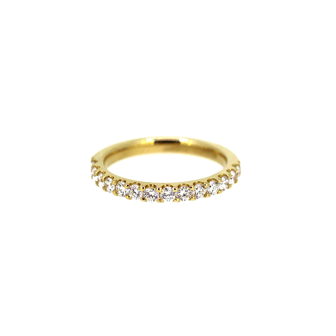 Four Pointer Yellow Gold Diamond Ring