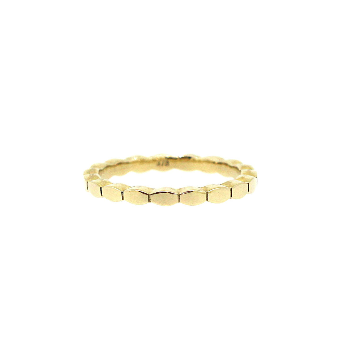 Gold Bali stacking ring