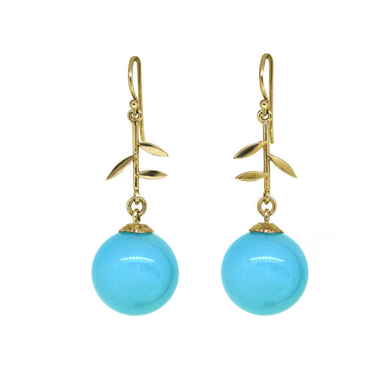Chalcedony Jardin earrings