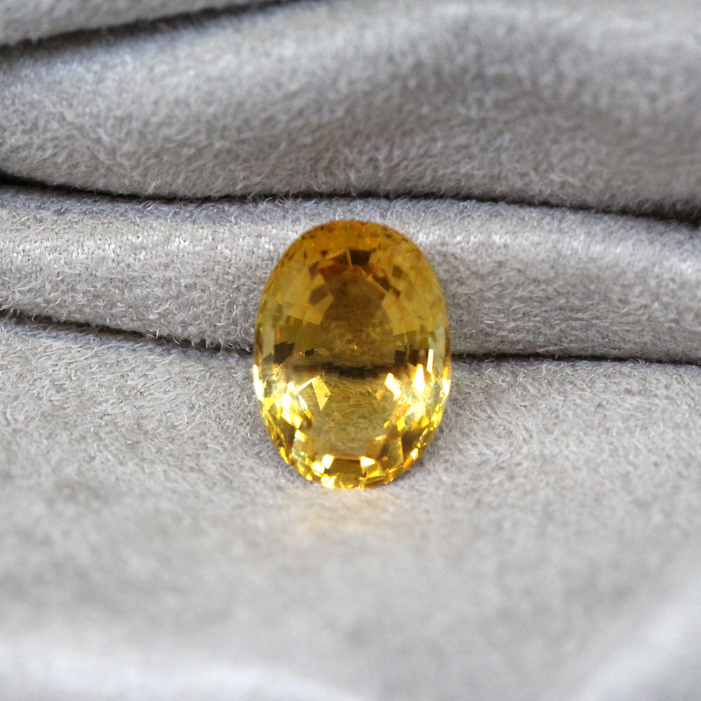 Loose Gemstone - Oval Citrine