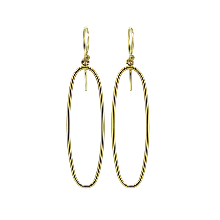 Frame Gold Earrings