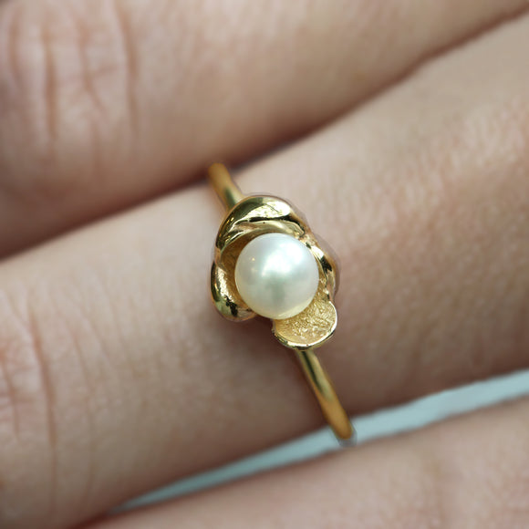 Medium Sunken Treasure Pearl Ring