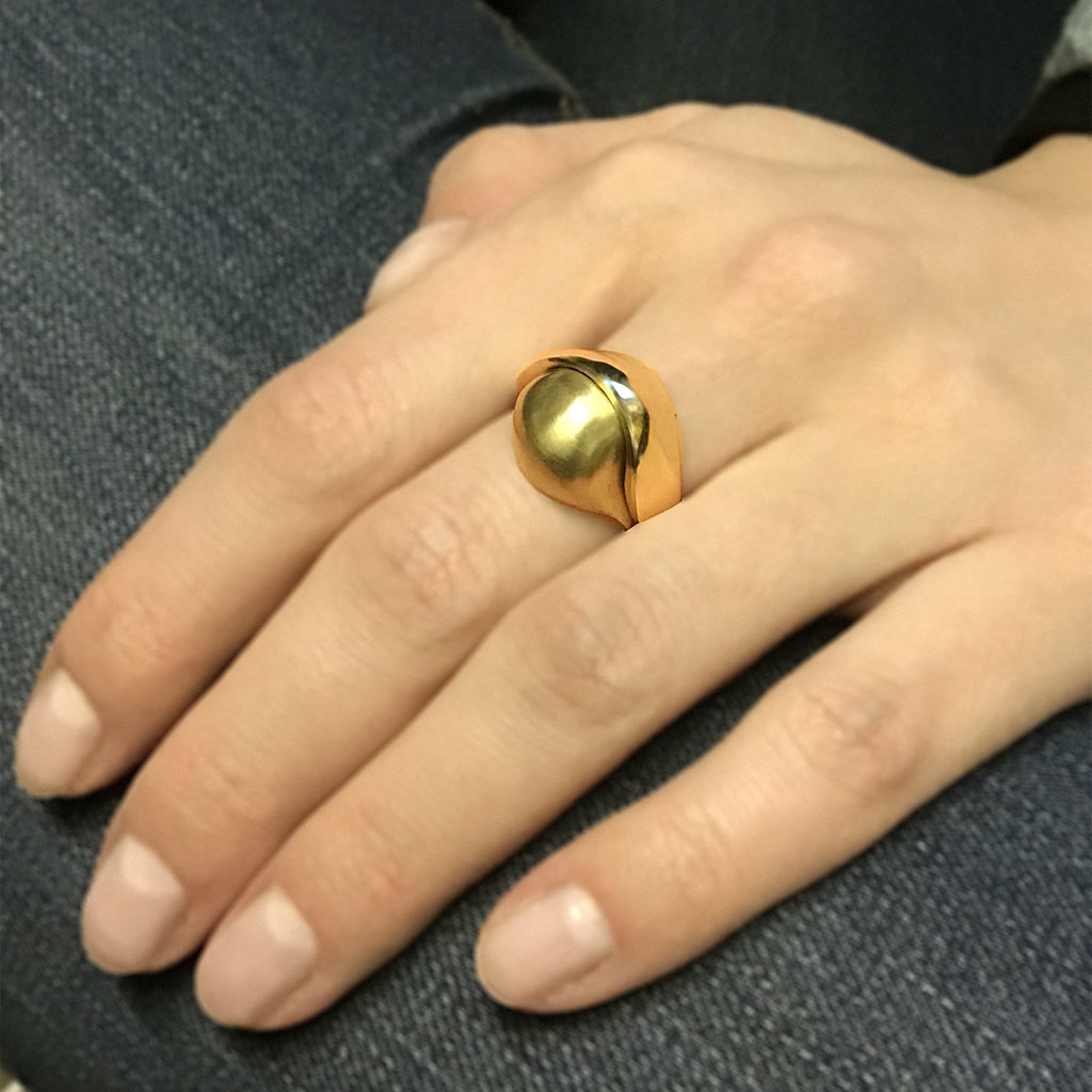 Golden Sling ring