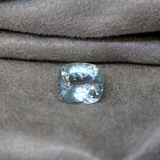 Loose Gemstone - Aquamarine Cushion