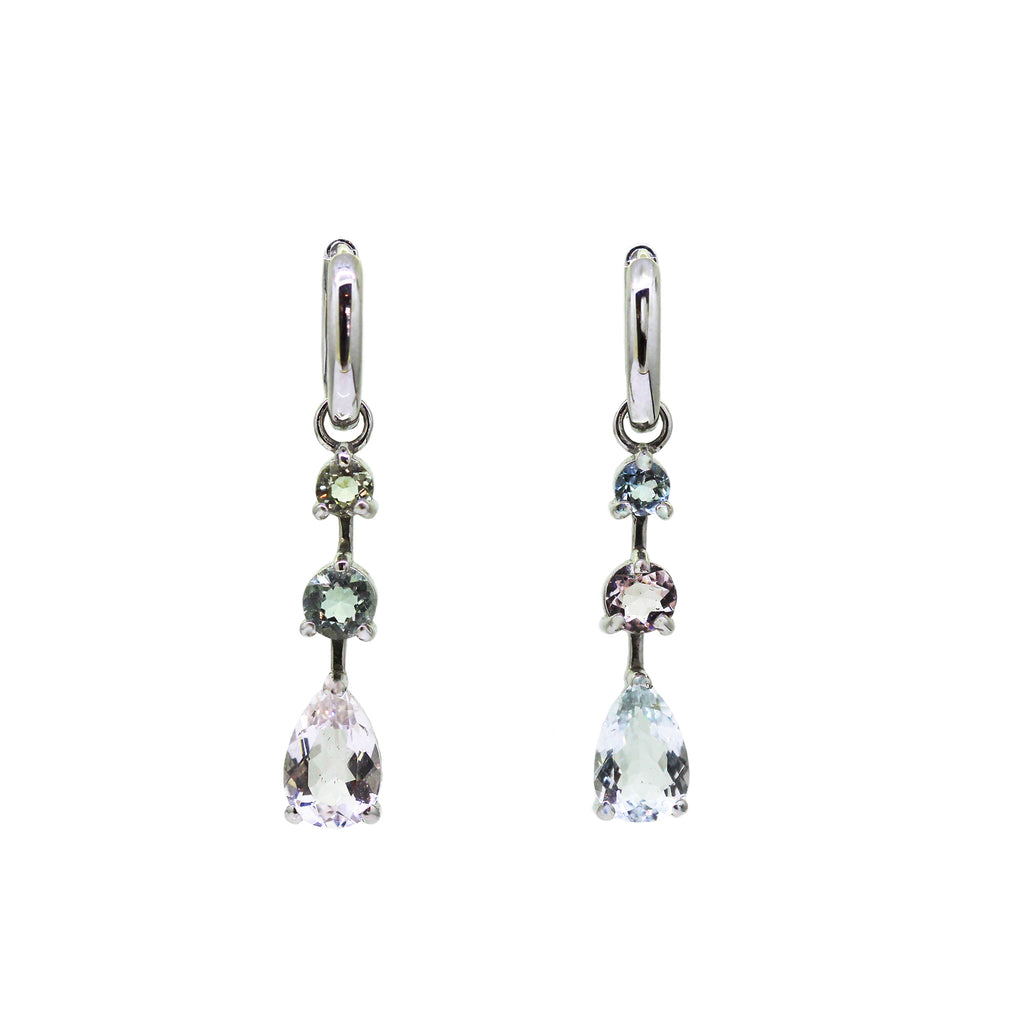 Pastel Beryl Drop Earrings