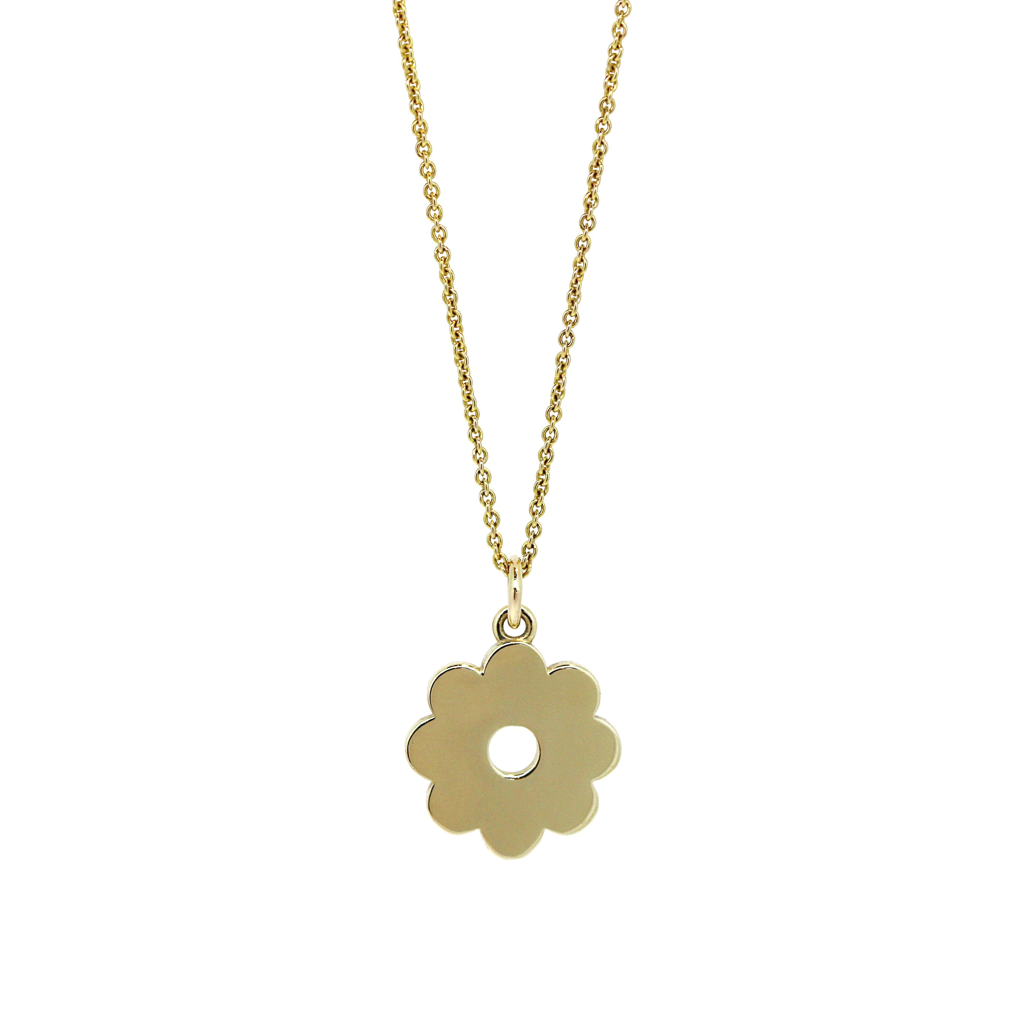 gold necklace daisy hi wire long res ladies