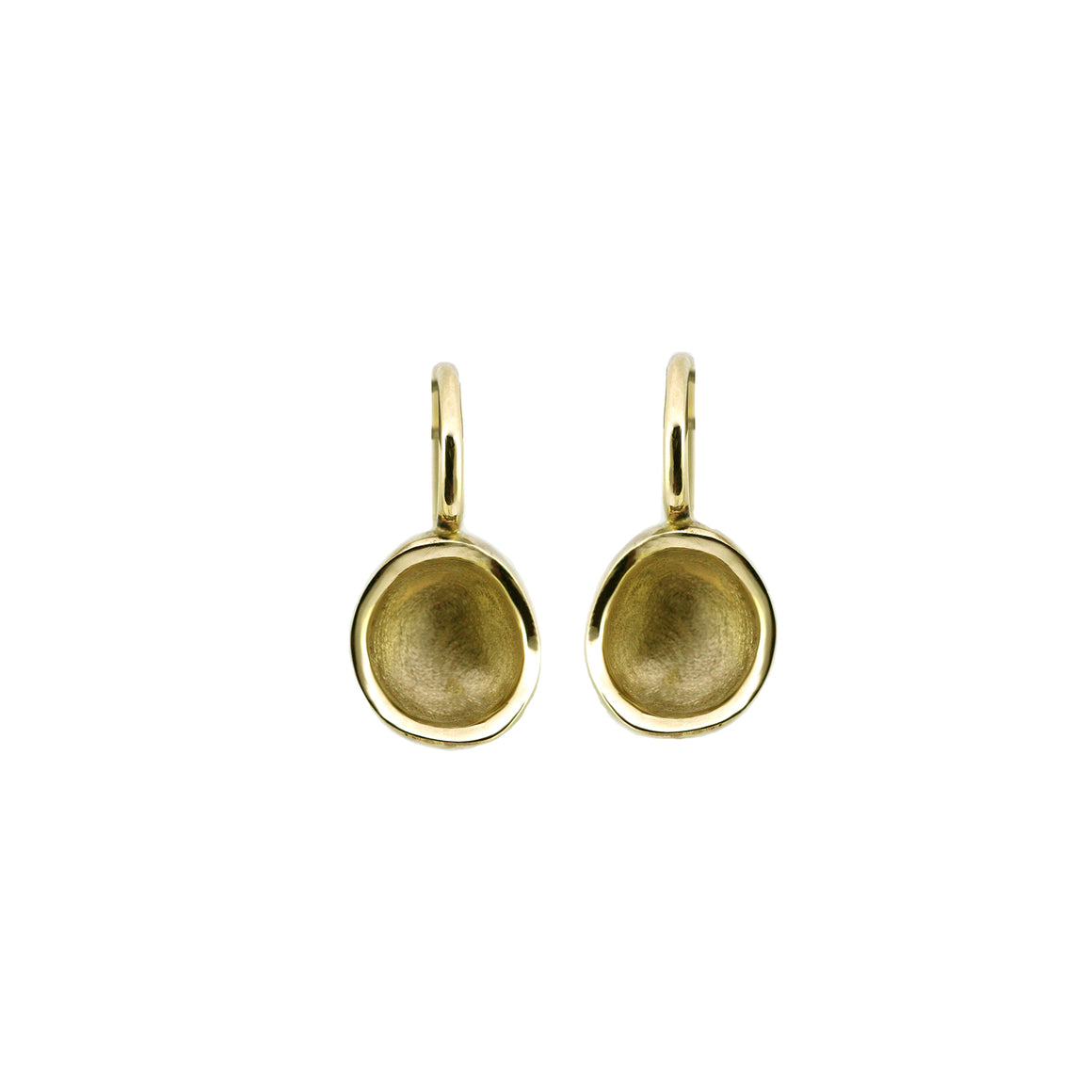 Golden Bowl earring