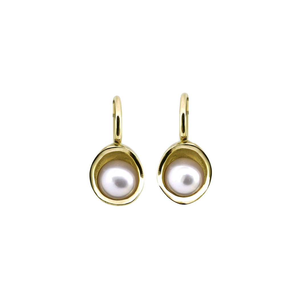 Pearl Bowl earrings