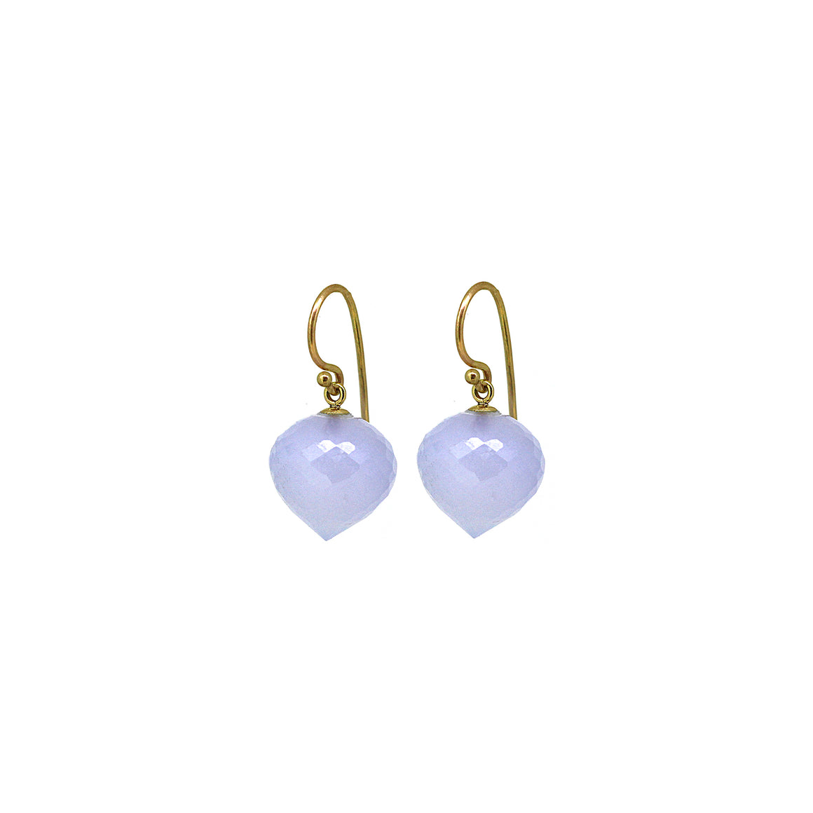 Chalcedony Gemstone Earrings