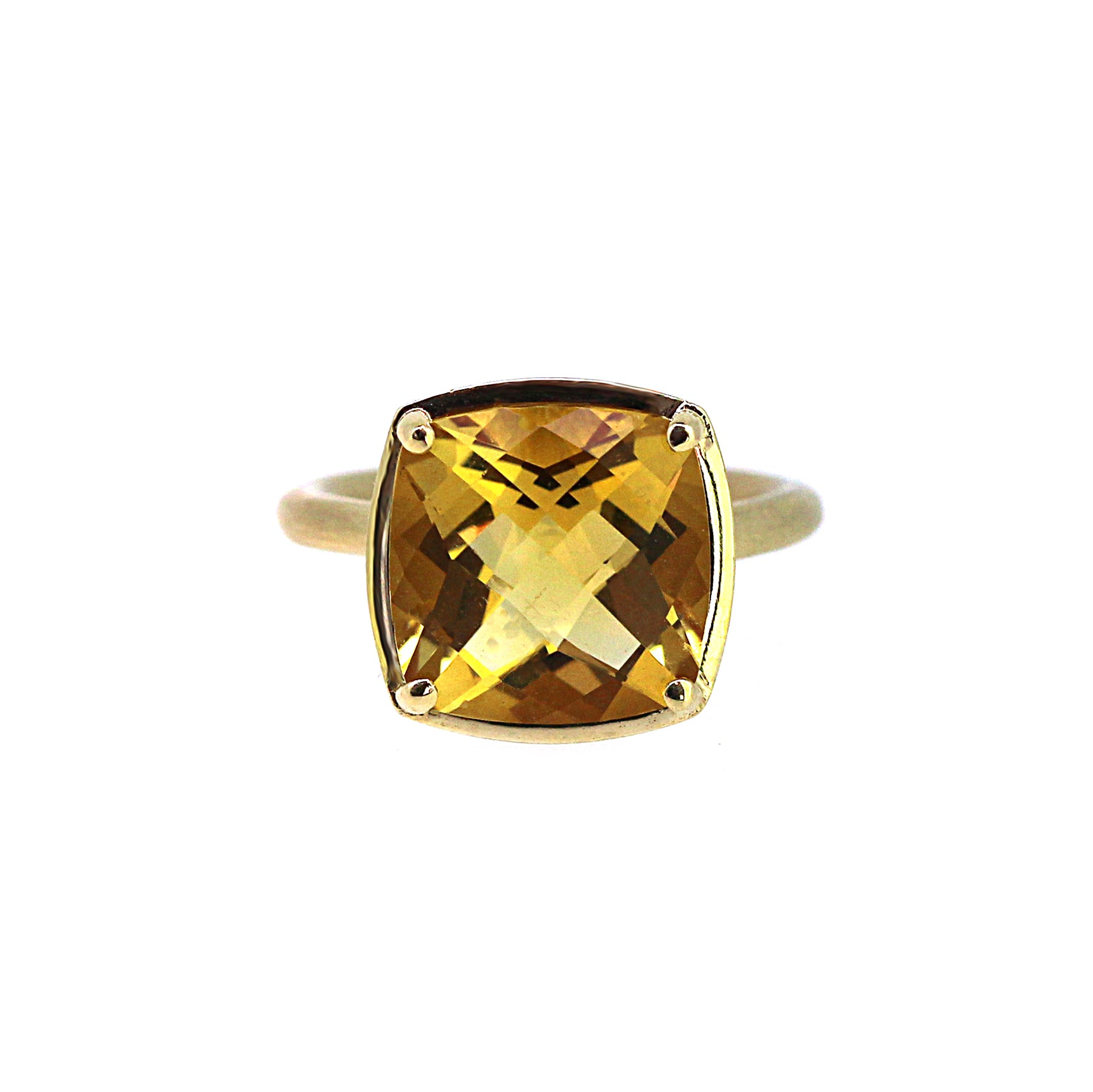 yellow ripple citrine jewellery rings gold amber ring product mcdonough sloane kiki engagement