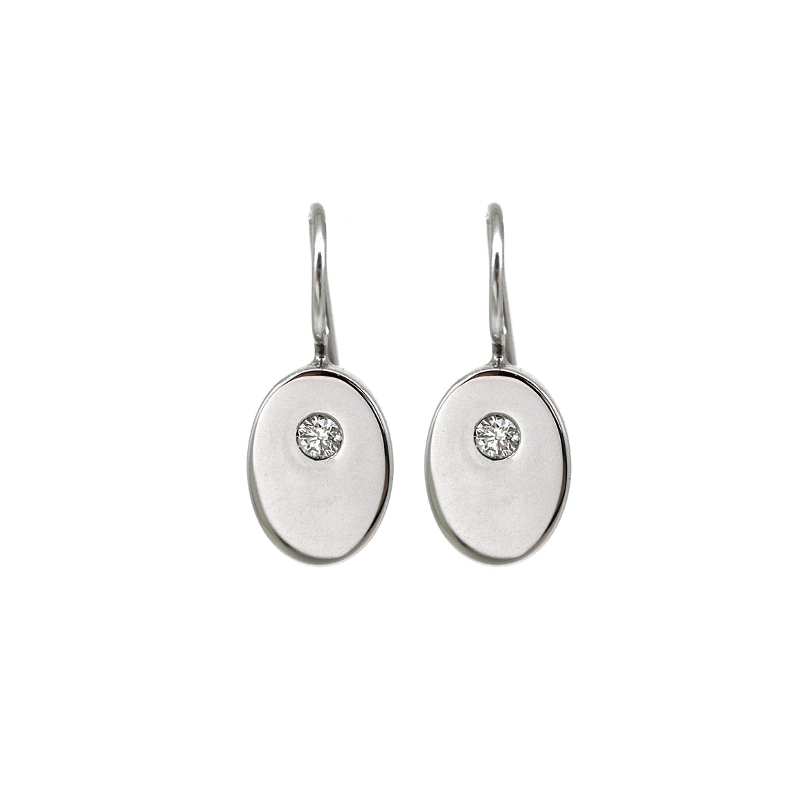Diamond White Gold Elemental Earrings (0.20ct)