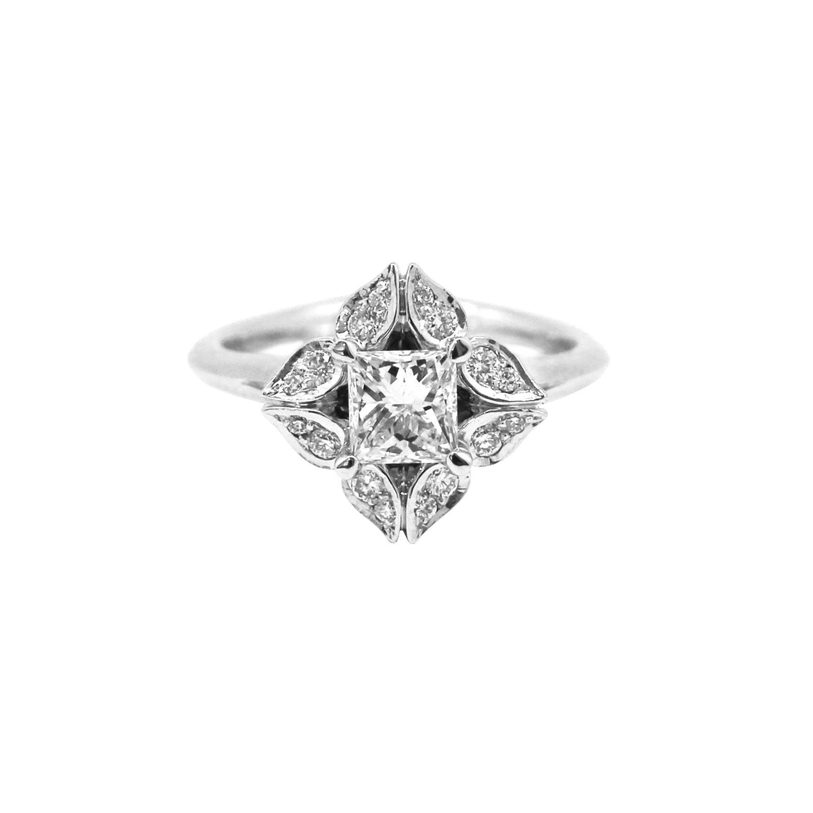 ring engagement charm diamond centres rings charmed richard daimond by calder product